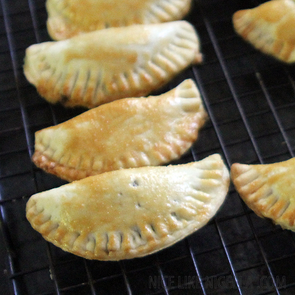 Harry Potter style Pumpkin Pasties