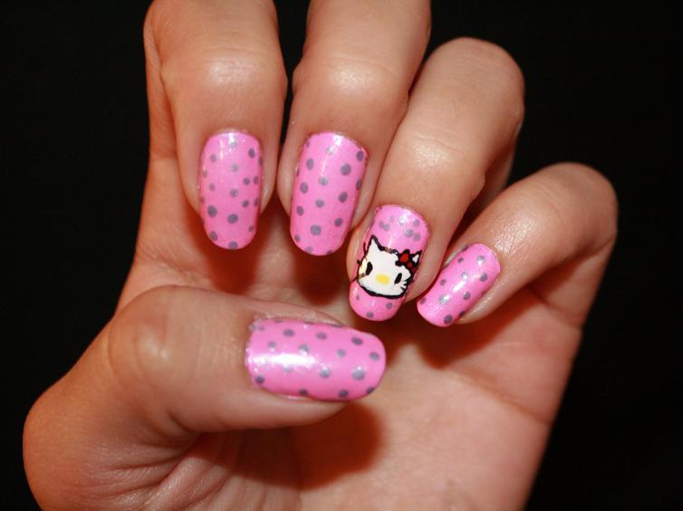 6 Hello Kitty Nail Designs Woman Fashion Nicepricesellcom