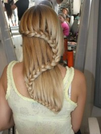 shaped braid for long hair : Woman Fashion - NicePriceSell.com