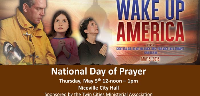 National Day of Prayer observance May 5 in Niceville