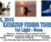 4th Annual Kayak & SUP Fishing Tournament July 23