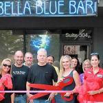 Bella Blue Bar celebrates remodel with Chamber ribbon cutting