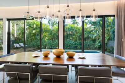 Modern Pendant Lights For Kitchen Island Life's A Beach! 5 Summer Homes With Modern Lighting