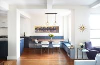 Breakfast Nook Modern Lighting Inside A Modern Manhattan Home