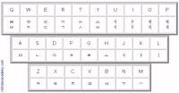 Printable English Korean Keyboard Chart Free to Print ...