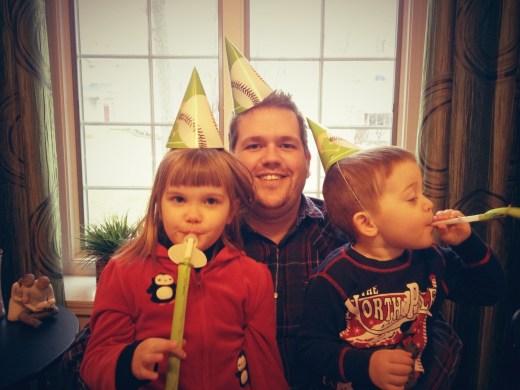 Ryan and his two beautiful children.