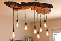 Rustic Ceiling Light  NicholsNotes
