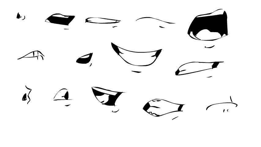 mouthExamples01jpg (853×480) drawing ref Pinterest Facial - free printable face masks