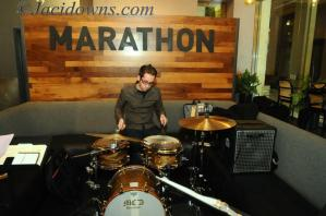 Nick Costa performing at the marathon grill with the george weldon trio
