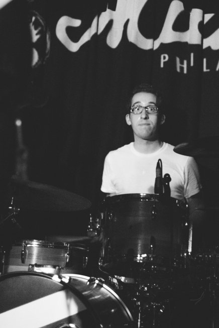 Nick Costa performing with Modern Suits opening for Paper Route