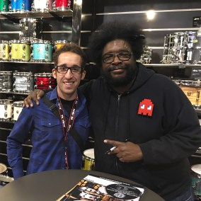 Nick Costa and Questlove
