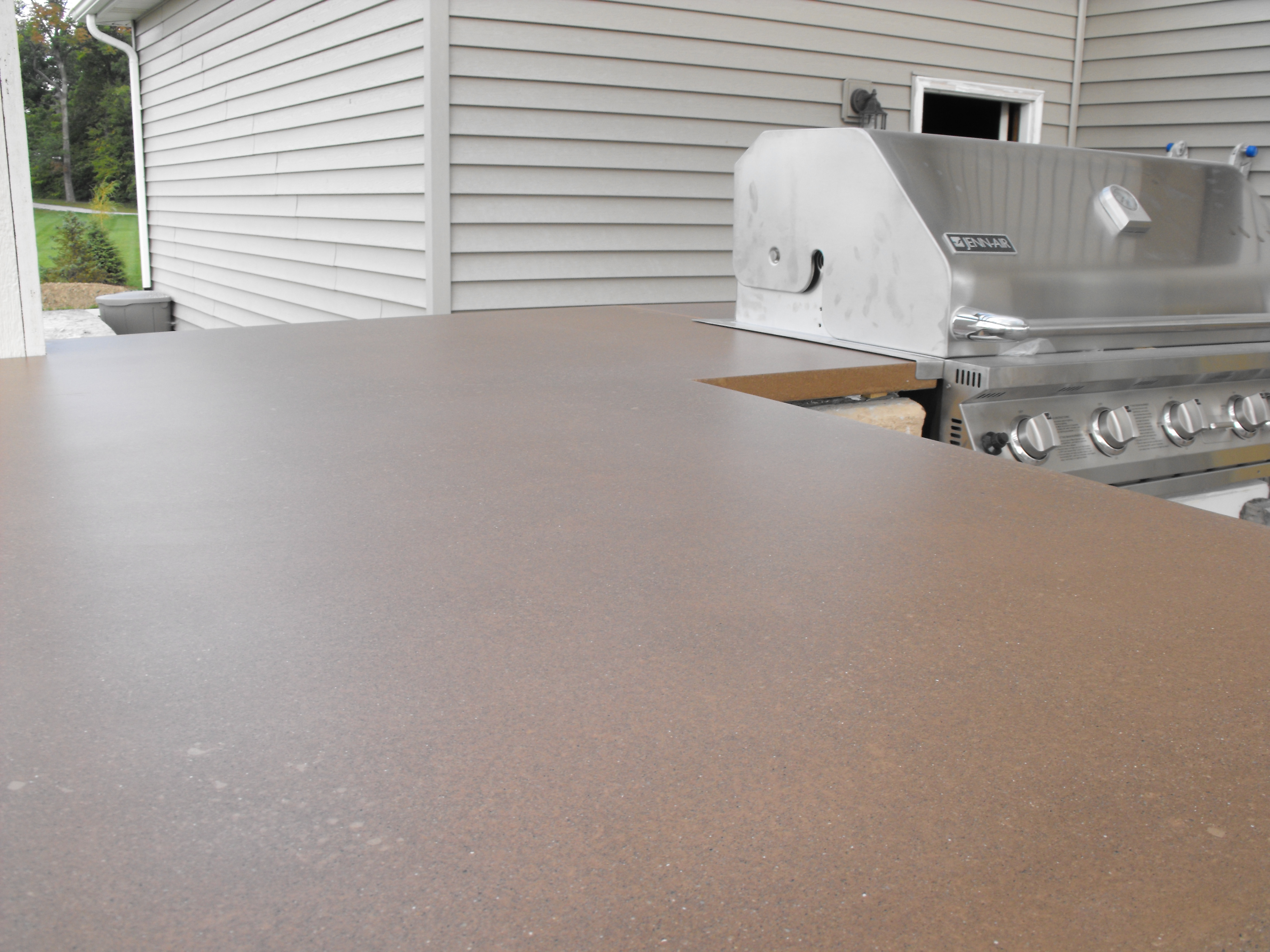How To Seal Concrete Countertops The Best Sealer For Concrete Countertops Cozy With Concrete