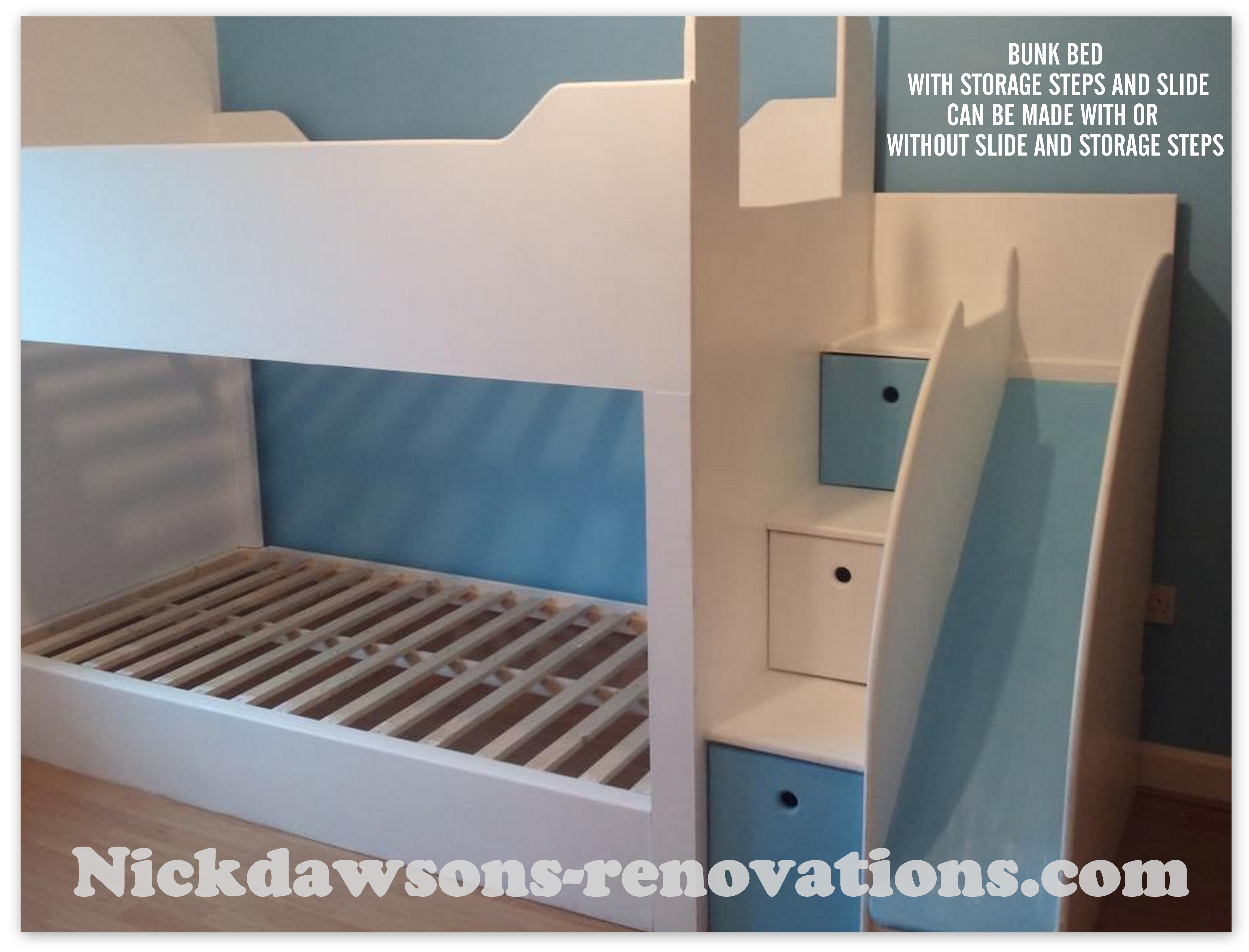 Childrens Beds With Pull Out Bed Underneath Childrens Storage Beds Bespoke Childrens Beds