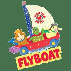 Wonder Pets FlyBoat Logo