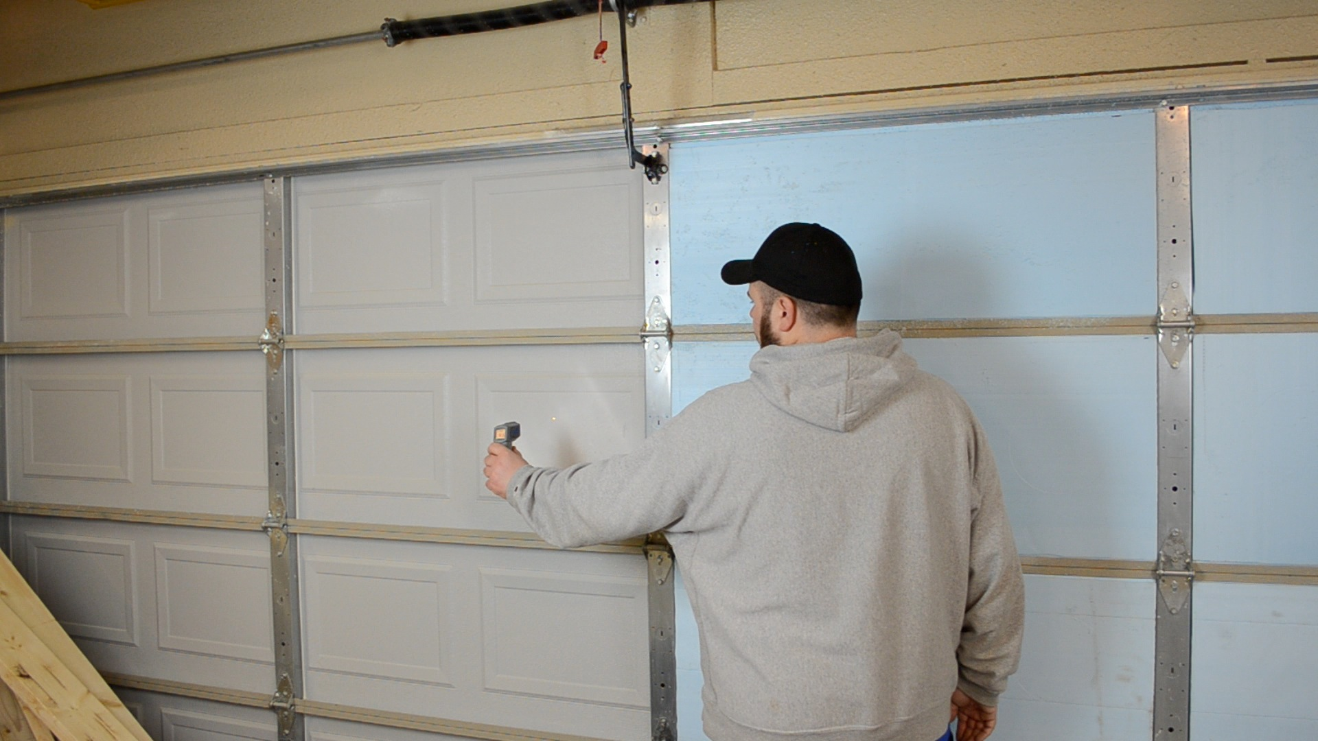 Door Insulation All You Need To Know About Garage Door Insulation Types And