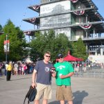 Three Daves road trips to the Indy 500 with Rick & Ed (of Sapporo fame---he's got a new car now...thank God).