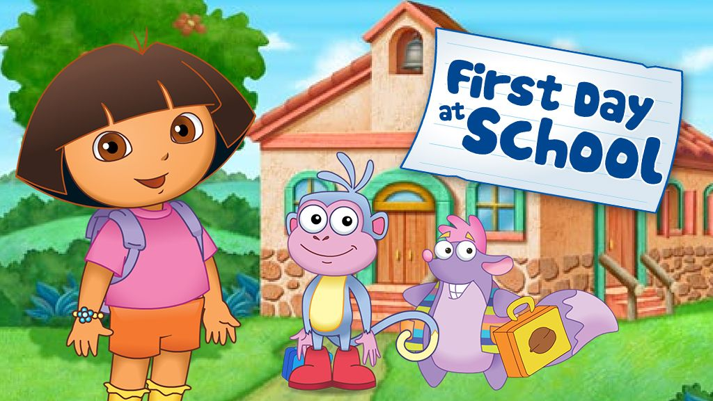 Amazing Dora The Explorer39s First Day At School Creative Game Nick ...