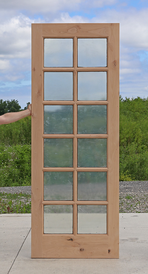 What Is Brickmold On A Door 12 Lite Exterior Knotty Alder Door