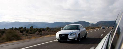 B7-Audi-A4-Rolling-Shot-Arizona-Freeways