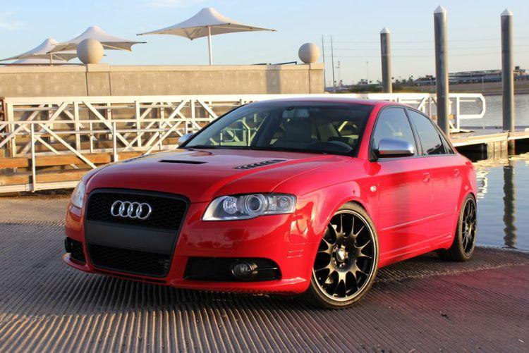 Audi S4 Carbon Fiber Hood