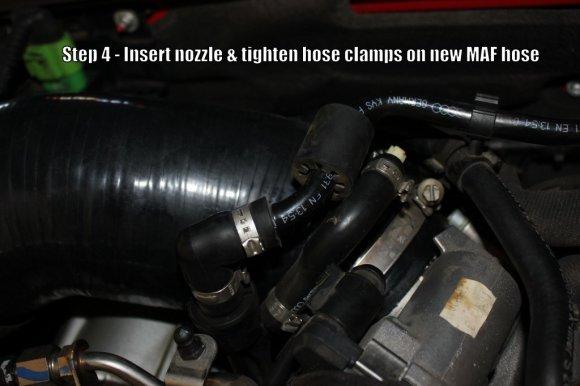 034 MAF Hose Install - Step 4