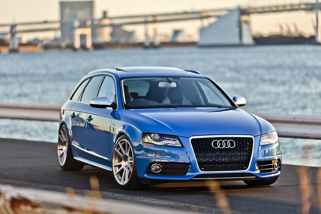 So S Sprint Blue B8 Audi S4 Avant In Tokyo Nick S Car Blog