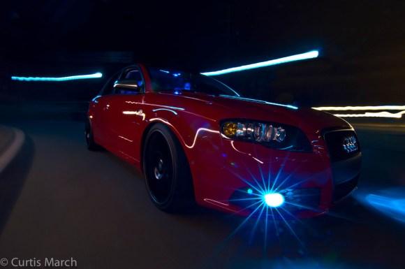 B7 Audi S4 Rolling Shot