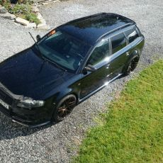 Steffen's B7 Avant with RS4 Conversion from Norway