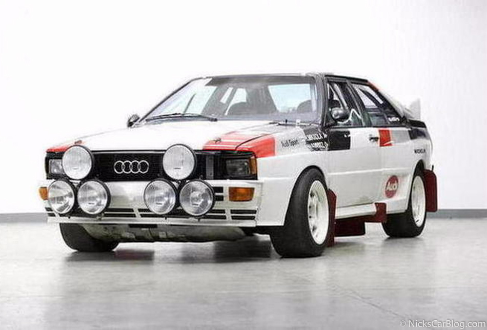 1982 Audi Quattro Group B Car Sold For 368k At Bonhams