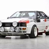 1982 Audi Quattro Group B Car Sold for $368K at Bonhams