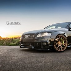 Myron's B8 S4 on AG Wheels