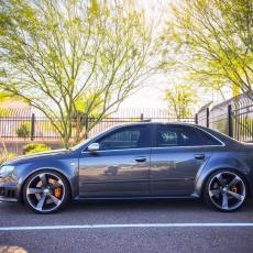 Audis on OEM Rotor Wheels: Mega Gallery