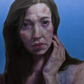 """But, How did I get to.. Now? - Oil on canvas - 48""""x48"""""""