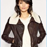 STYLE: Oasis Shearling Aviator Leather Jacket
