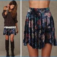 STYLE: Velvet Echoes Skirt