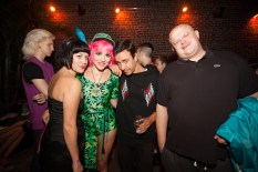 Maggie Horn, Roxy Cottontail, DJ Orgasmic & Teki Latex