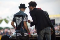 A-Trak & Dave 1 of Chromeo
