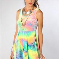 STYLE: Tie-Dye Pastel Dress
