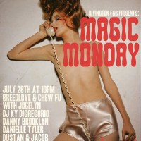 Magic Monday at Rivington F+B on July 28, 2014