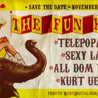 UPCOMING: The Fun Haüs Halloween Hangover Party at Jeromes on November 1, 2014!