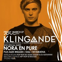UPCOMING: Girls & Boys with Klingande, Nora En Pure and more at Webster Hall on March 27, 2015! RSVP for Guest List!