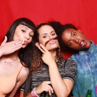 Dark Disco X Fade To Mind Photo Booth at 88 Palace on April 18, 2015