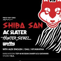 PAST EVENT: Girls & Boys with Shiba San, AC Slater, Hunter Siegel, Worthy at Webster Hall on May 22, 2015! RSVP for Guest List!