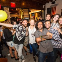 Waves Launch Party at Freehold Brooklyn on June 27, 2015
