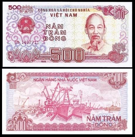 Vietnam 500 DONG 1989 P 101 UNC