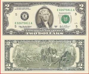USA $2 2003A E