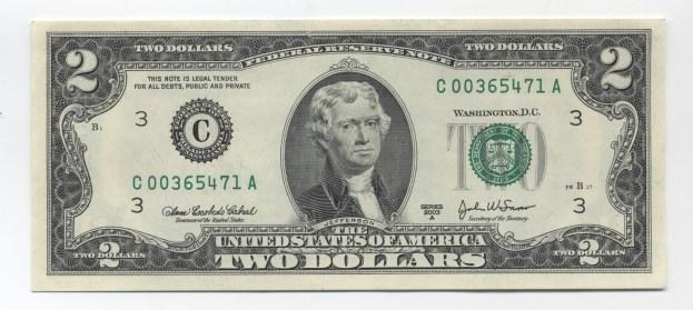 $2 2003A (c)