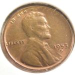 1953 s Wheat Penny