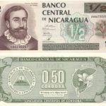 NICARAGUA HALF CORDOBA P.172 UNC NOTE 1992