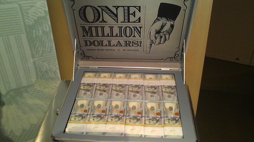 One Million Dollars In A Brief Case More From Our Trip